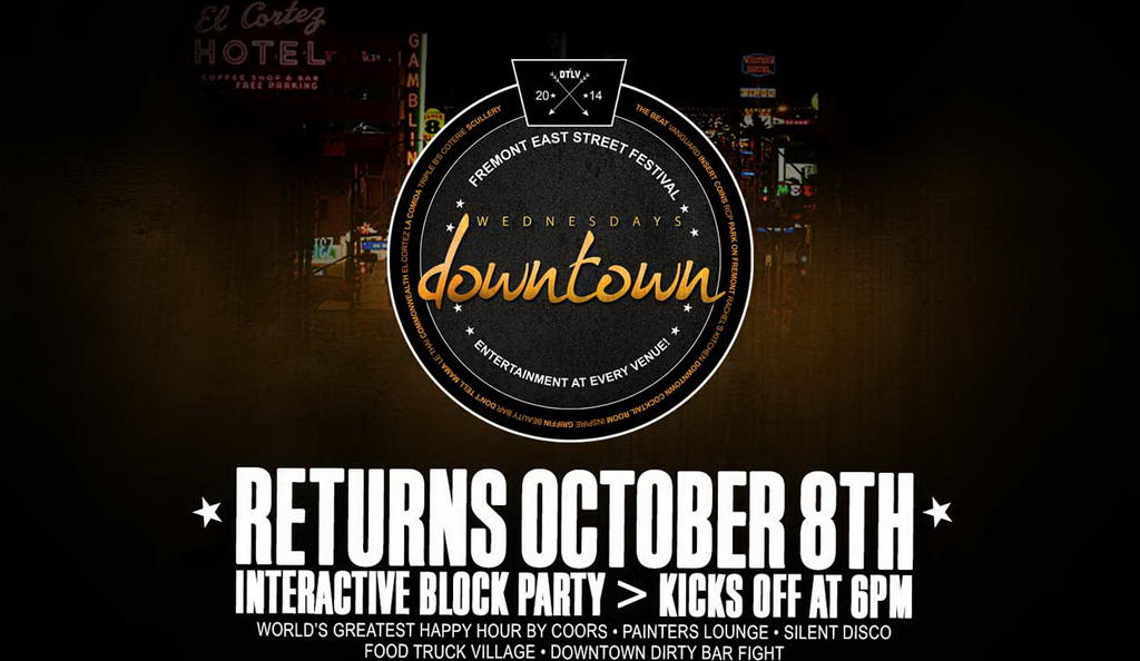 Wednesdays Downtown Returns To The Fremont East District