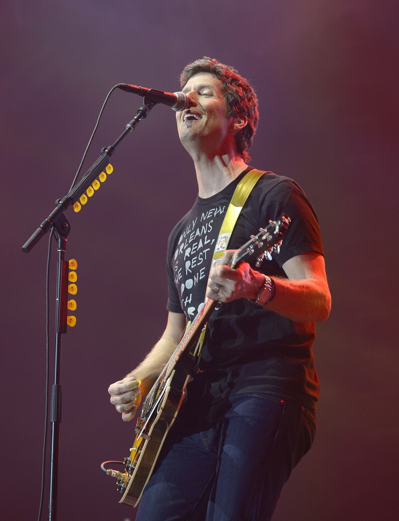 Better than Ezra performing at Wine Amplified - Photo by Bryan Steffy/WireImage