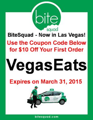 BiteSquad.com - $10 Off Coupon