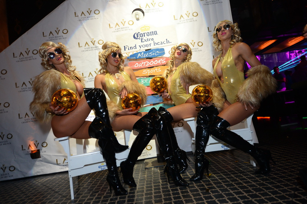 LAVO Party Brunch Season Four Launch