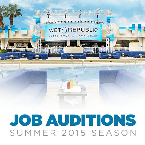 Hakkasan group hiring for wet republic 2015 pool season for Pool show las vegas 2015