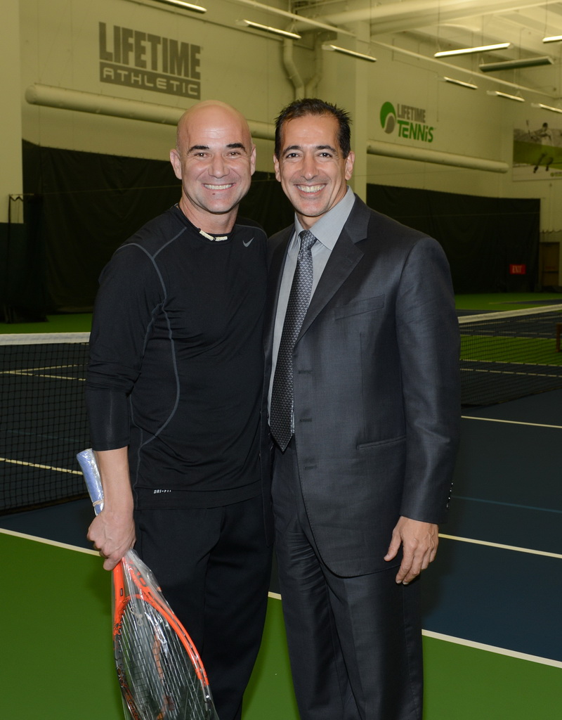 Life Time Athletic Green Valley - Andre Agassi & Bahram Akradi