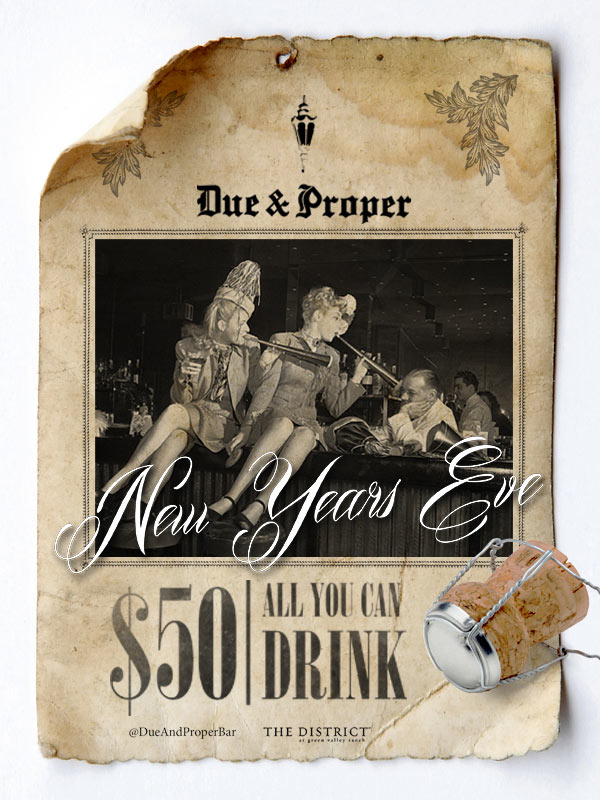 Due & Proper New Year's Eve
