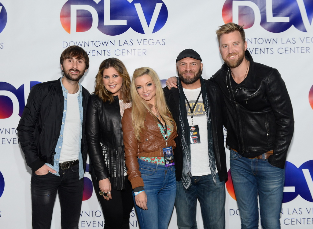 Lady Antebellum Performs At DLVEC