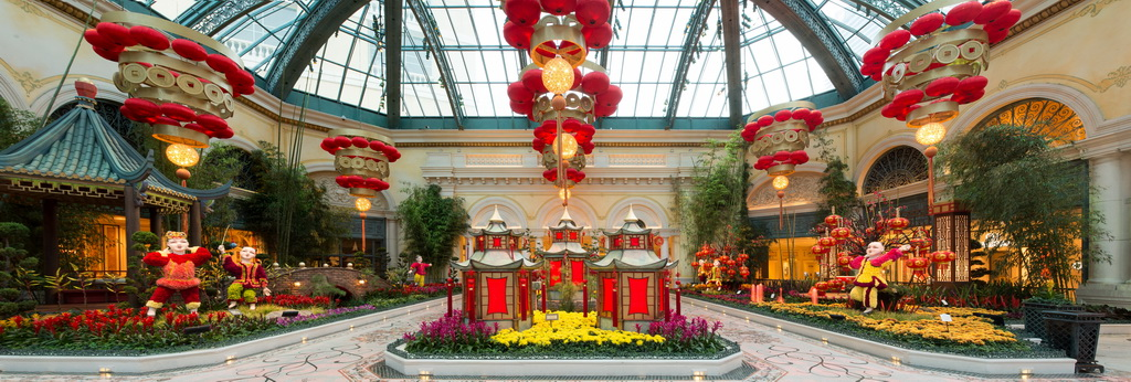 2015 Chinese New Year Display Panoramic