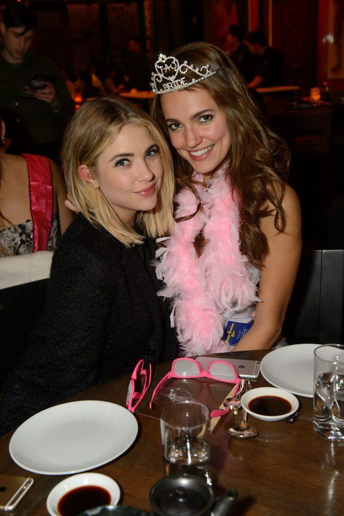 Ashley Benson celebrates the bachelorette party of a friend at TAO Las Vegas