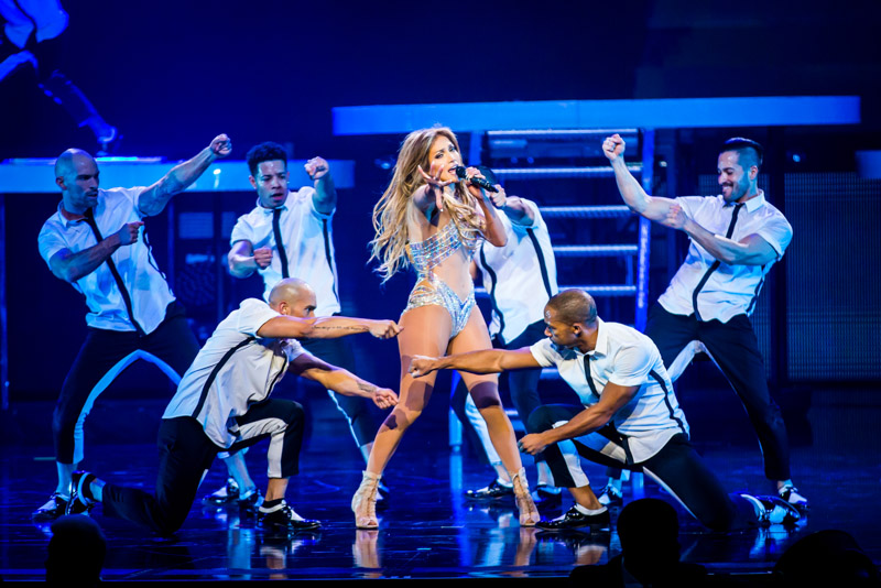 Jennifer Lopez Performs At The Colosseum At Caesars Palace