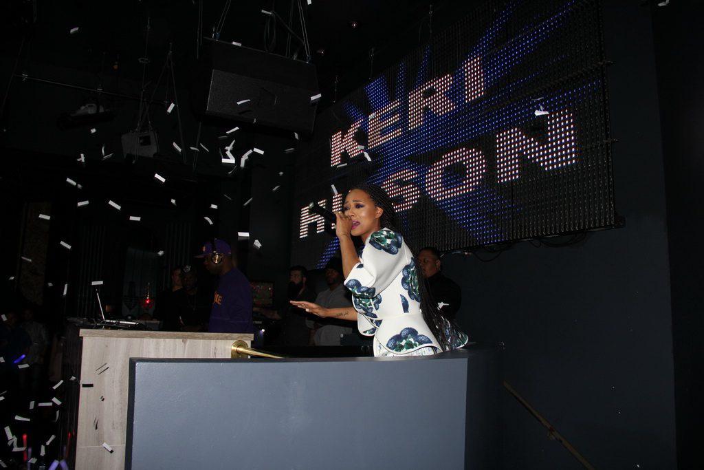 Keri Hilson Performing at Chateau