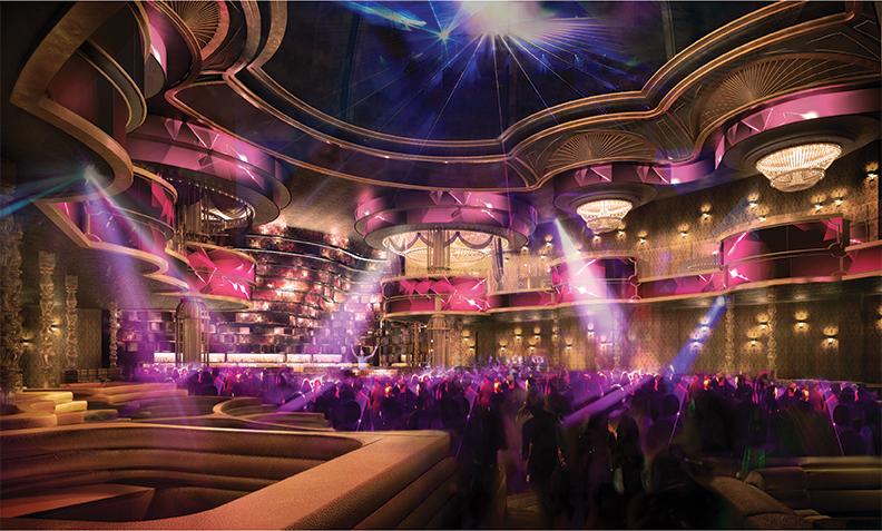 OMNIA Nightclub Las Vegas Rendering