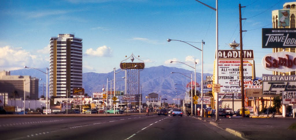 Las Vegas History - The Strip