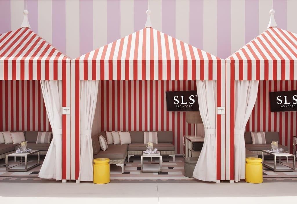 SLS Las Vegas - Foxtail Pool Cabanas
