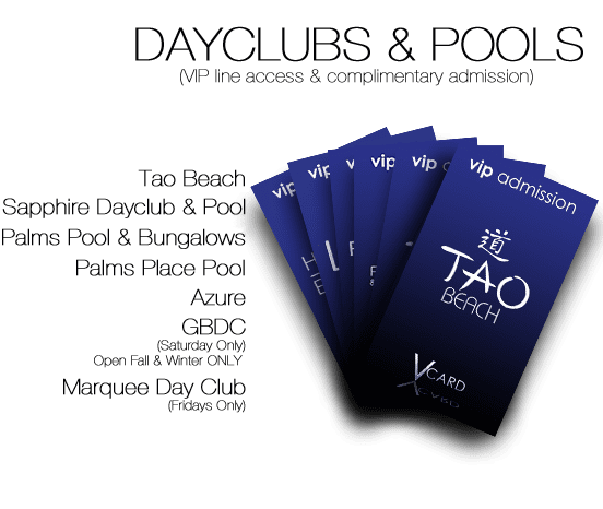 Dayclub & Pool Passes