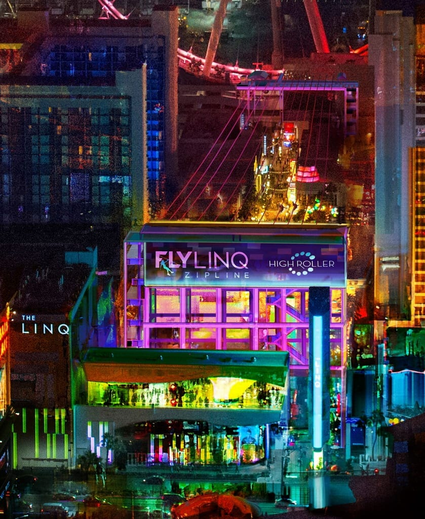 Fly LINQ - Aerial Birdseye POV