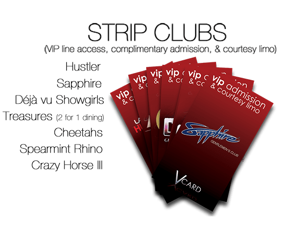 Strip Club Passes
