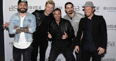 The Backstreet Boys at Chateau