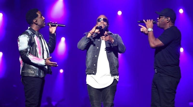 Boyz II Men Serenades at Vegas Strong Benefit Concert