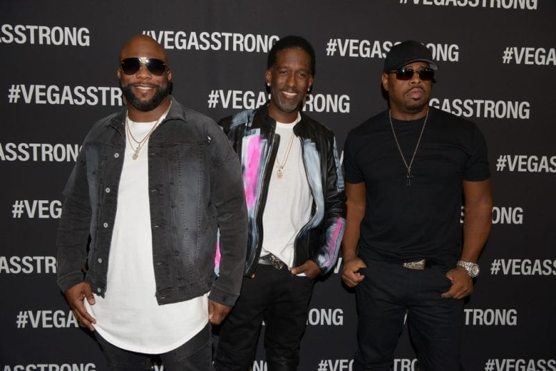 Boyz II Men at Vegas Strong Benefit Concert