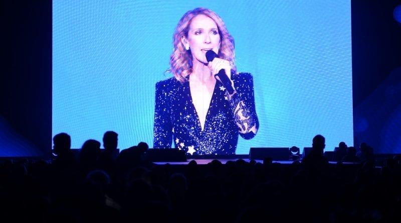 Celine Dion Video Tribute at Vegas Strong Benefit Concert