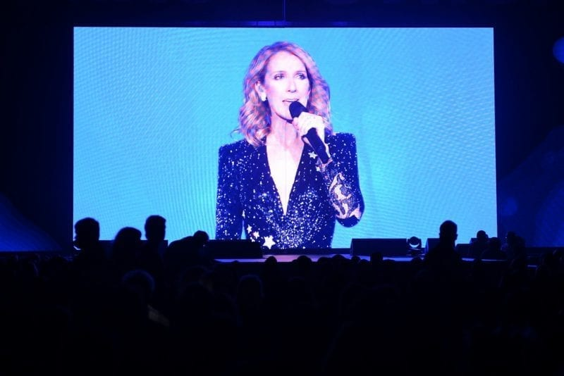 Celine Dion Video Tribute at Vegas Strong Benefit Concert