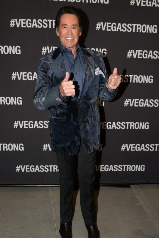 Wayne Newton at Vegas Strong Benefit Concert