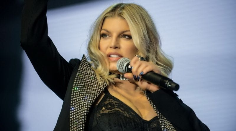 Fergie at Caesars Palace