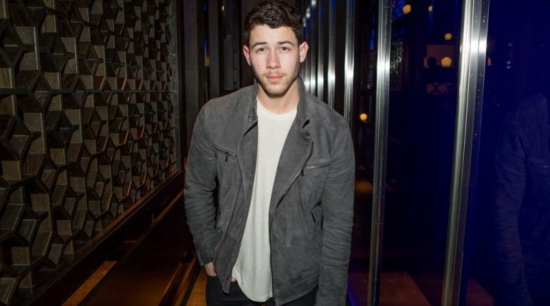 Nick Jonas at Hakkasan Las Vegas Restaurant