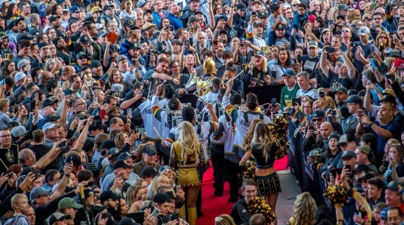 Over 10k Fans Turn Out for the First-Ever VGK Fan Fest