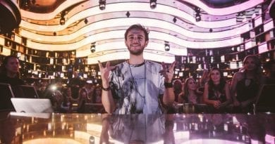 Zedd at OMNIA - Photo Credit Aaron Garcia