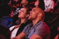 Spectators react to the tournament action at the grand opening of Esports Arena Las Vegas