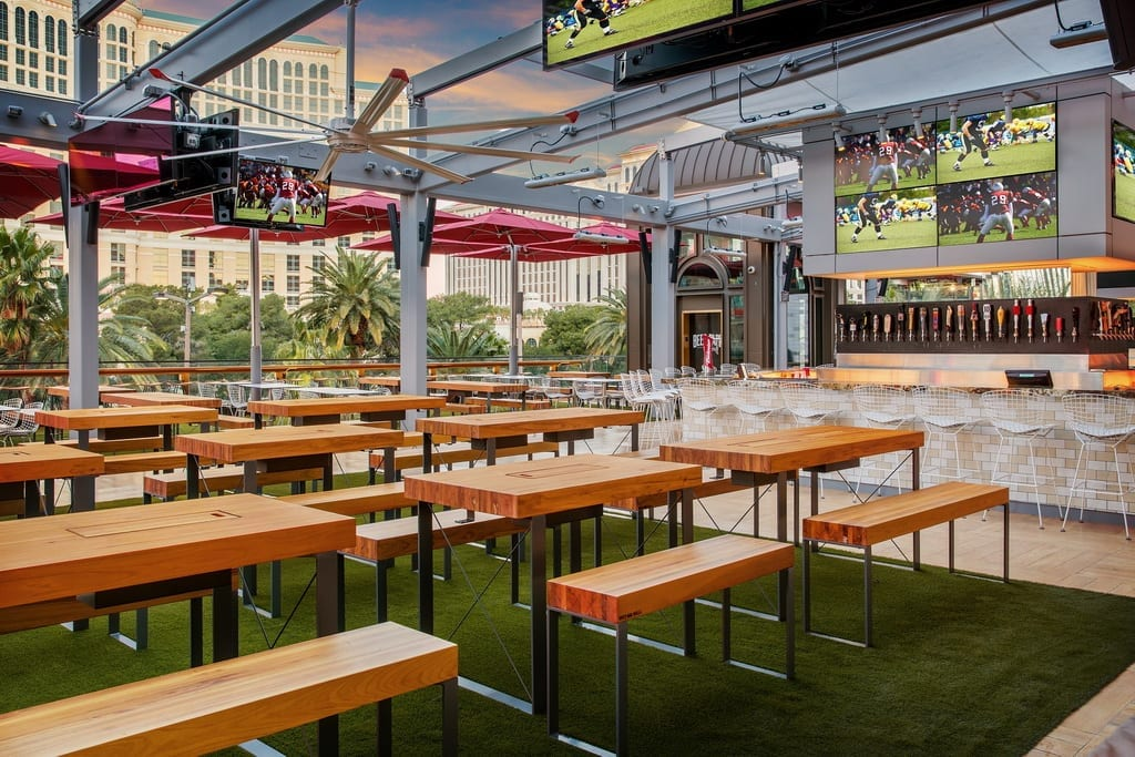 Alfresco dining - BEER PARK Bar and Seating by Anthony Mair