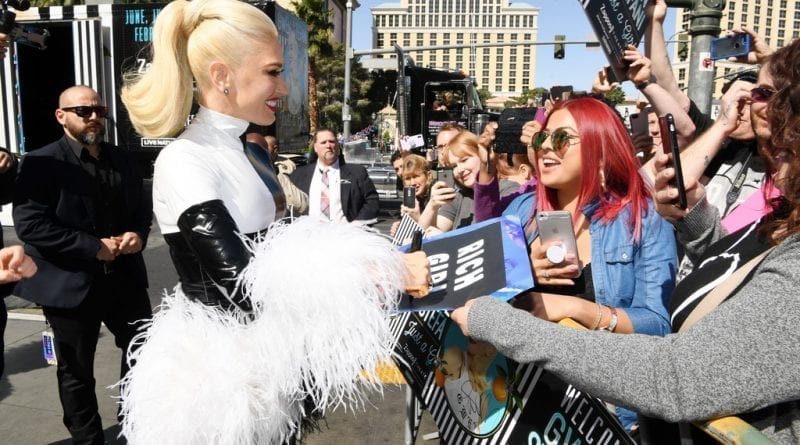 Gwen Stefani Arrival - Photo Credit- Denise Truscello