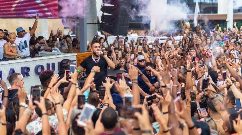 French Montana at Marquee Dayclub