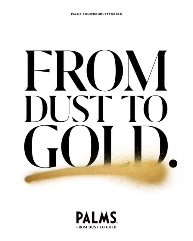 Palms. From Dust to Gold.