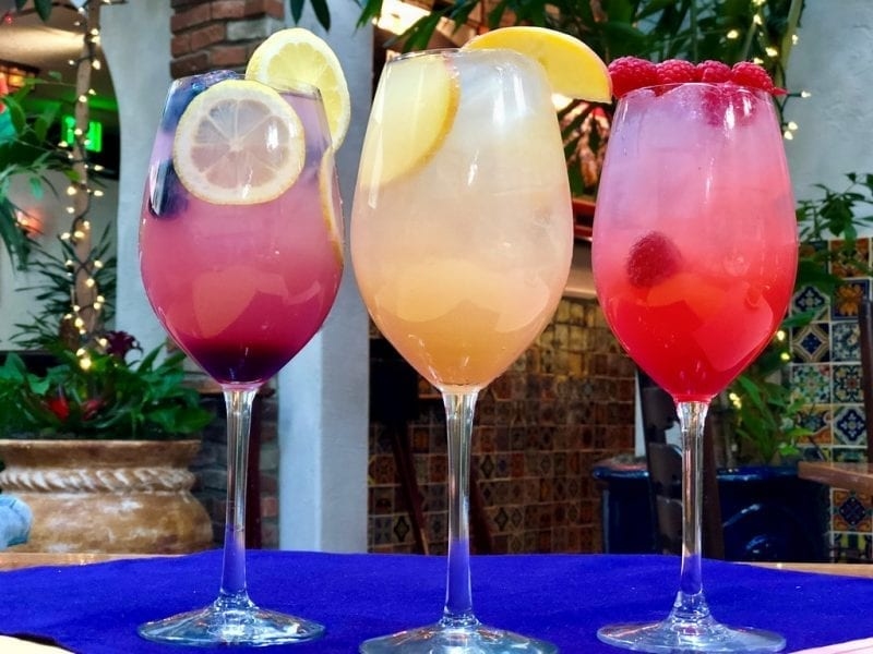 Panchos Trio of Summer Coolers
