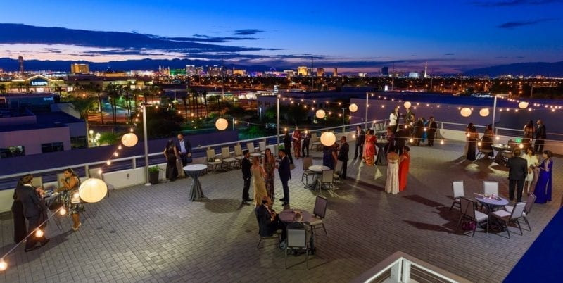 Enclave's Vivace Rooftop Deck - Photo Credit Al Powers of PowersImagery