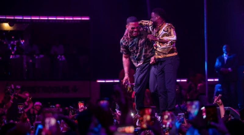 Kevin Hart and Nelly