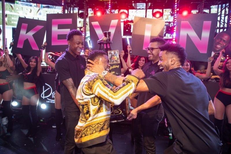 Kevin Hart and Trey Songz Birthday Celebration