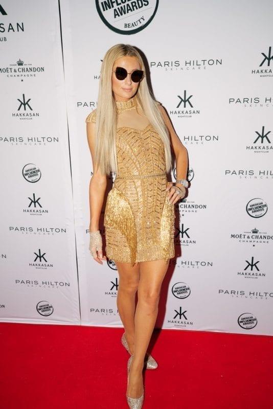 Paris Hilton at Hakkasan Las Vegas Nightclub