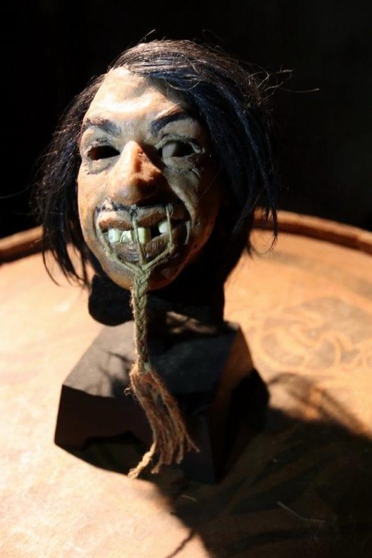 The Gazillionaire's shrunken head