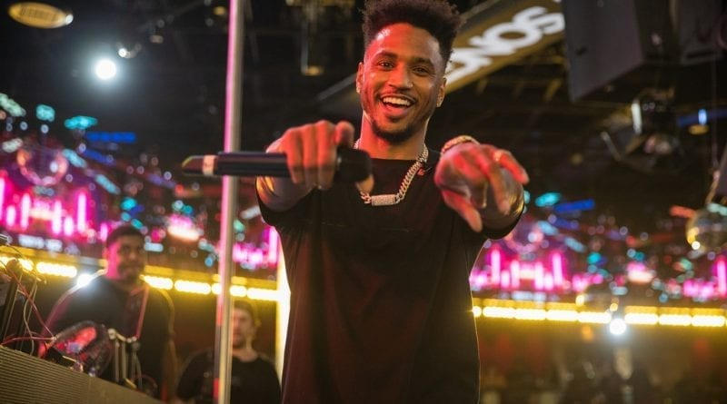 Trey Songz on Stage