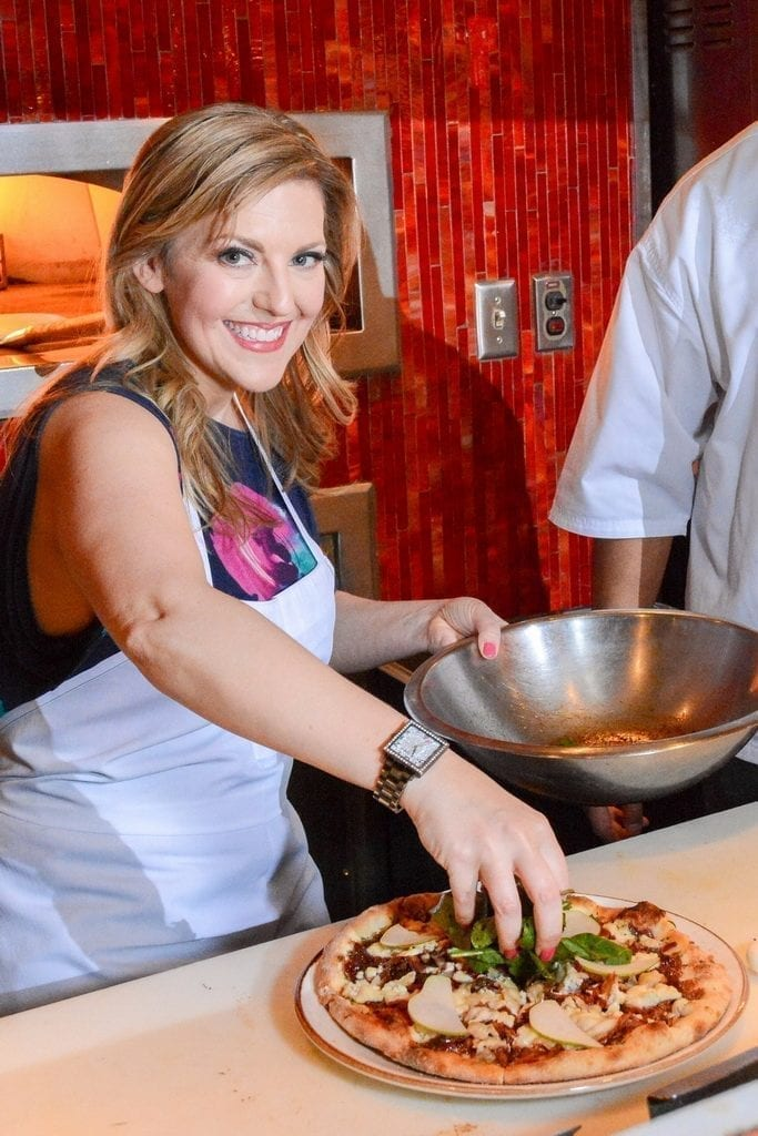 Courtney Perna at TREVI Charity Pizza Cook Off