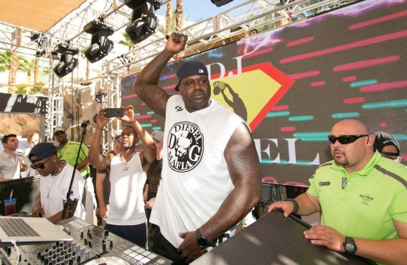 Shaquille O'Neal at Rehab