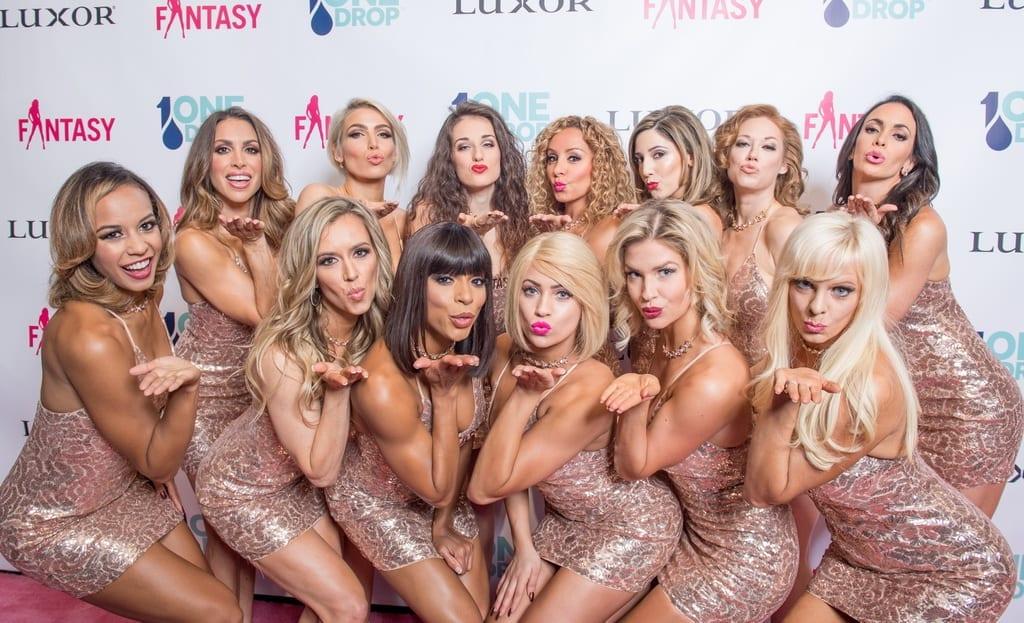 FANTASY Cast on pink carpet by Tom Donoghue