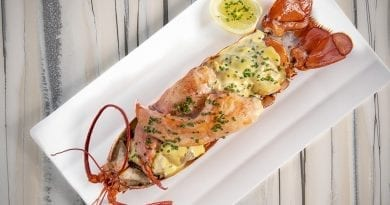Top of the World - Maine Lobster Thermidor