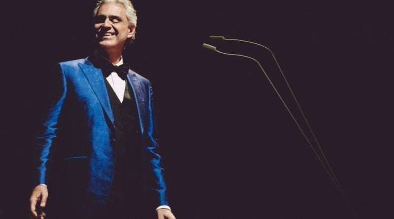 Andrea Bocelli Coming to the MGM Grand Garden Arena