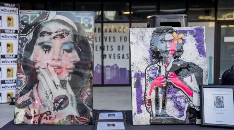 Las Vegas Fashion Council - Amazing silent auction items up for bid. Photo Credit_ Joel Cada