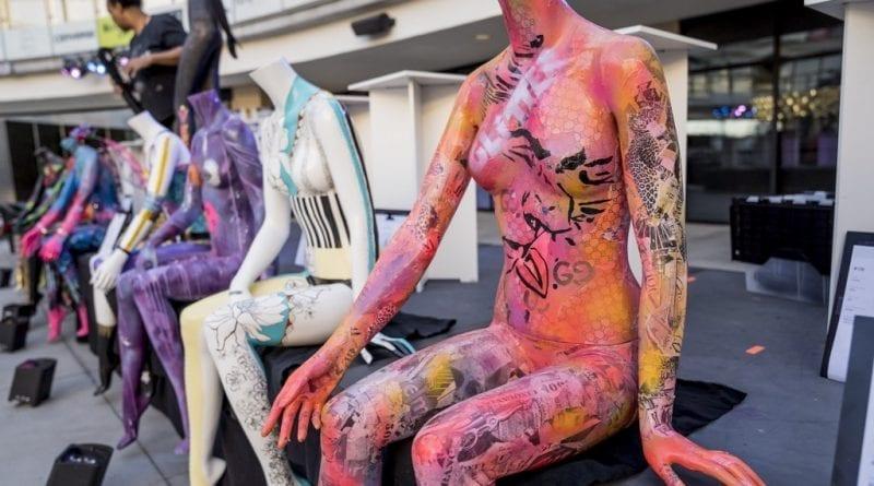 Las Vegas Fashion Council - Painted ladies. Photo Credit_ Joel Cada