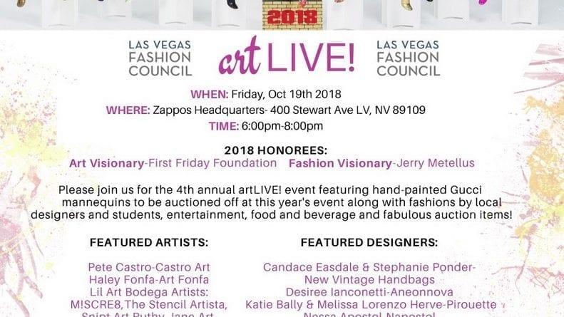 Las Vegas Fashion Council artLIVE!
