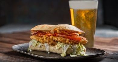 PT's Taverns - Buffalo Chicken Bacon Ranch Sandwich