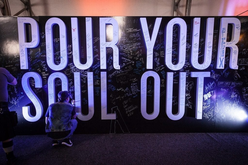 Pour Your Soul Out Wall